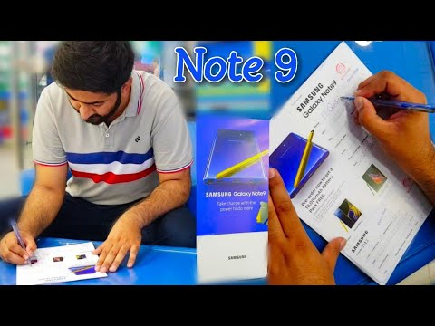 Samsung Galaxy Note 9 Pre Order Booking