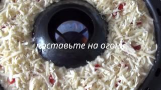 Готовим пирог на сковороде Чудо-гриль, рецепт с видео
