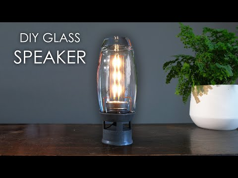 DIY glass speaker! How to build your own.