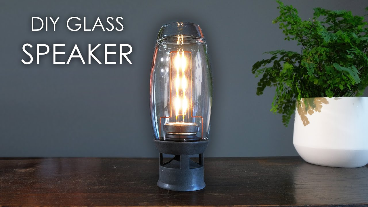 DIY glass speaker! How to build your own