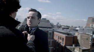 Любовная сцена на крыше (Часть 1). Шерлок. 2012