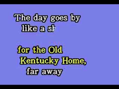 DKG038 16   Traditional   My Old Kentucky Home [karaoke]