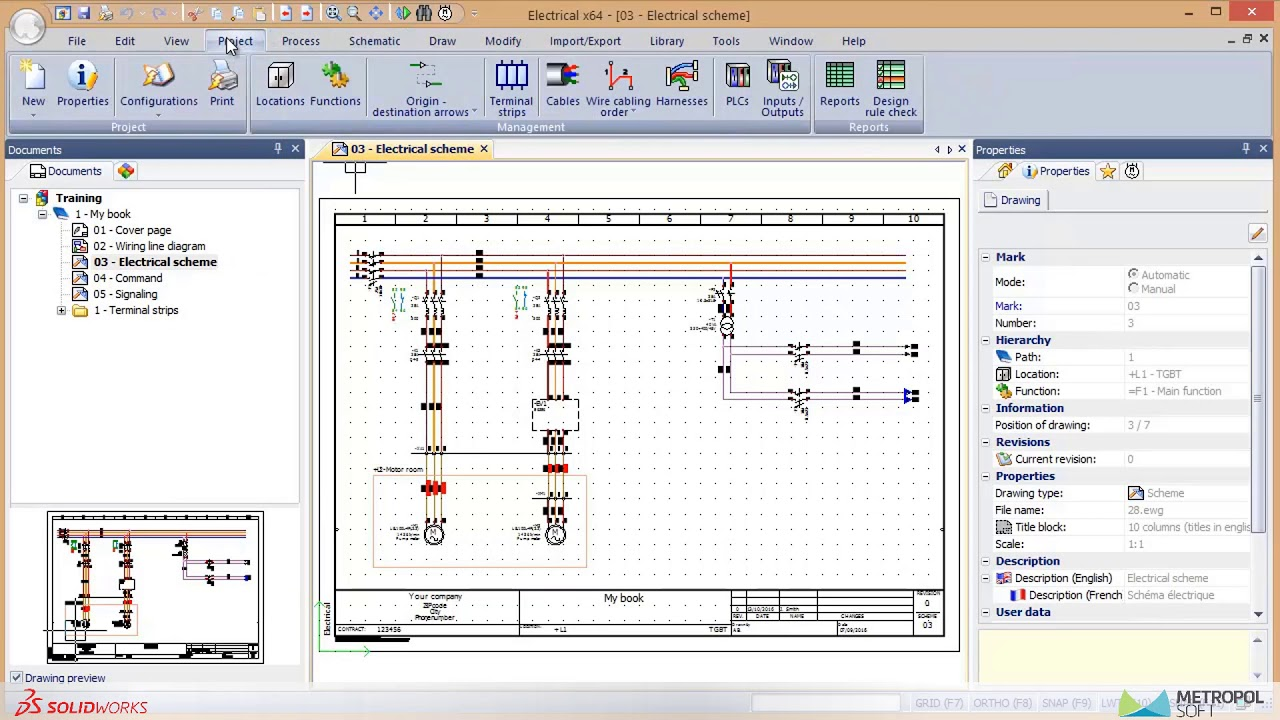 27 Solidworks Electrical Schematic Plc Ynetimi Youtube Wiring