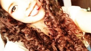 No heat Straw Curls Method 4- Heat free Doll Curls- Big Voluminous Hair Without Bobby Pins