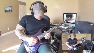 Joe Satriani - Headrush (cover) {Line6 Helix}