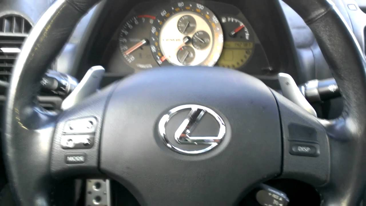 Is300 To Is350 Steering Wheel Mod Youtube