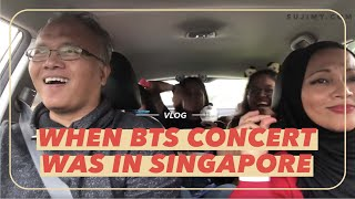 Vlog: When BTS concert was in Singapore