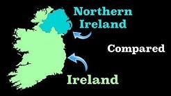 Ireland and Northern Ireland Compared