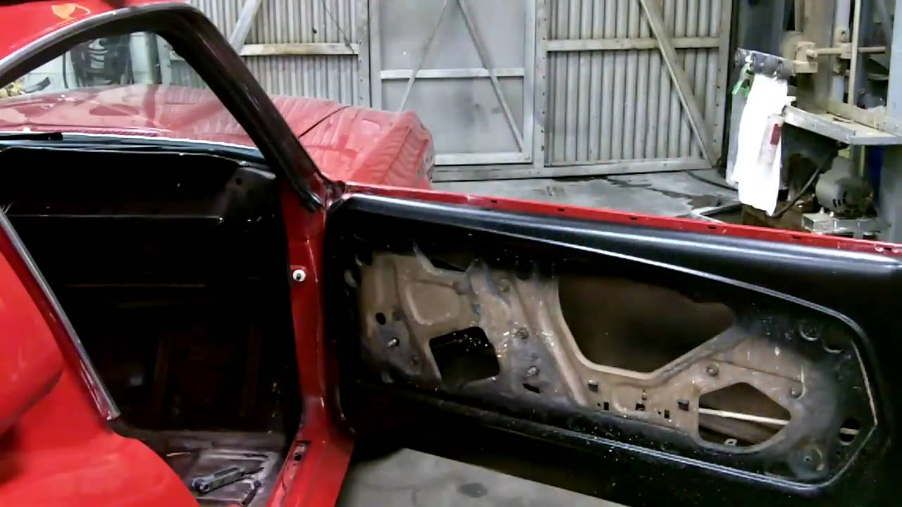 Step 2 1967 68 ford mustang fastback 1pc door glass kit for 1966 mustang quarter window installation