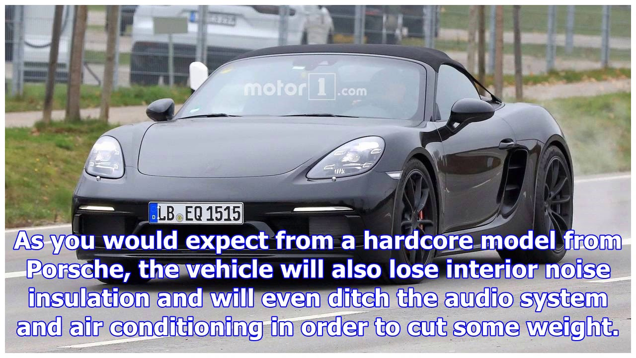 Porsche 911 gt3-powered 718 boxster spyder is coming - YouTube on blue noble, blue 944 turbo, blue murcielago, blue suzuki, blue mitsubishi, blue infinity, blue mini, blue lincoln, blue bentley, blue berlinetta, blue isetta, blue delorean, blue yugo, blue yenko, blue gto, blue smart, blue prowler, blue maserati, blue fiat, blue boxster,