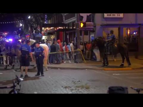 Downtown Shooting on 6th Street Austin Texas 5/7/2017
