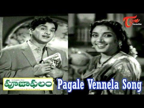 Pooja Phalam Movie Songs   Pagale Vennela   ANR   Savitri   Jamuna