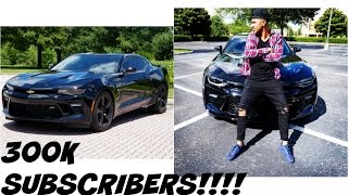 MY BRAND NEW CAR! THANK YOU! 2016 CHEVY CAMARO!! 300K SUBSCRIBERS!!