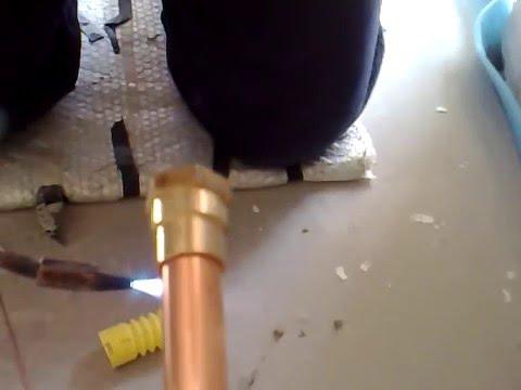 Saldatura tubo rame youtube for Rubinetti per tubi di rame