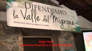 Sergio Pisarri - Il Consorzio di bonifica e la valle del Mignone