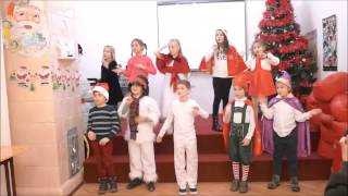 Serbare Craciun Shakespeare School Victoriei grupa J1A - Santa Has a Red Red Coat