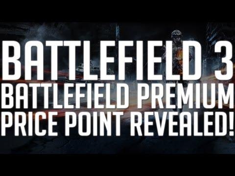 Battlefield 3: Battlefield Premium Price Point Revealed! |