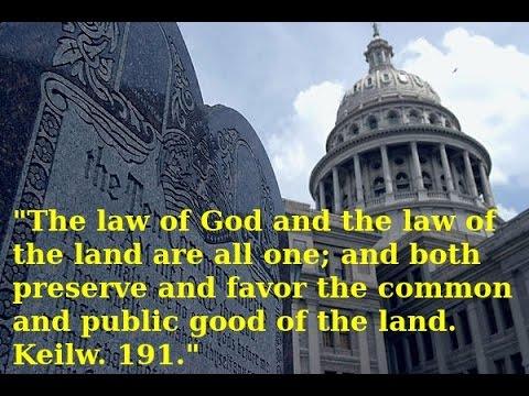 God's Law: Lex Naturalis, VIS DIVINA, Dei Gratia...