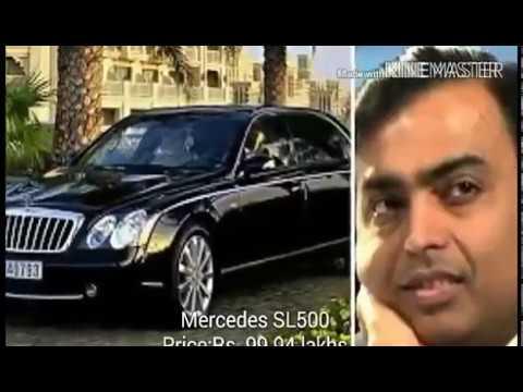 Car And Plane Collection Of Mukesh Ambani Youtube