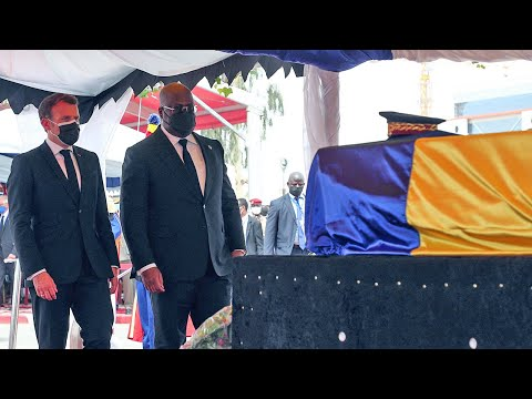 Idriss Deby: Emmanuel Macron attends state funeral for late Chadian President