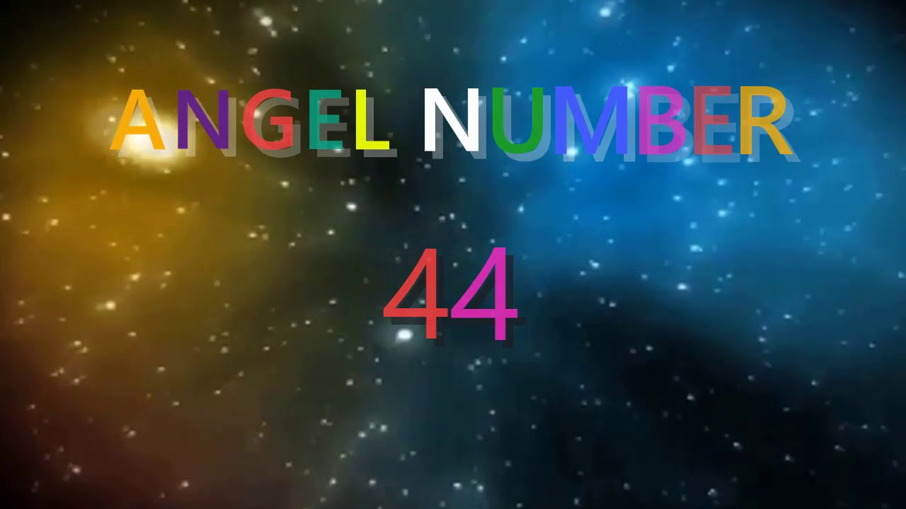 44 angel number | ANGEL NUMBER Meanings & Symbolism