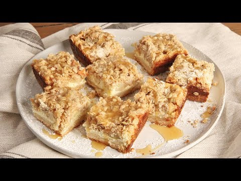 Caramel Apple Cheesecake Bars | Ep. 1292