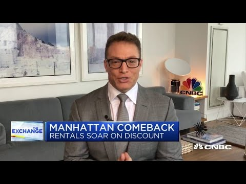 NYC's rental prices dropped 19% with many landlords offering two months of free rent