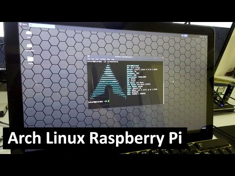Arch Linux for Raspberry Pi