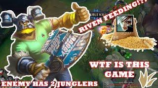 2JUNGLERS VS TOP FEEDING?? LOLPH