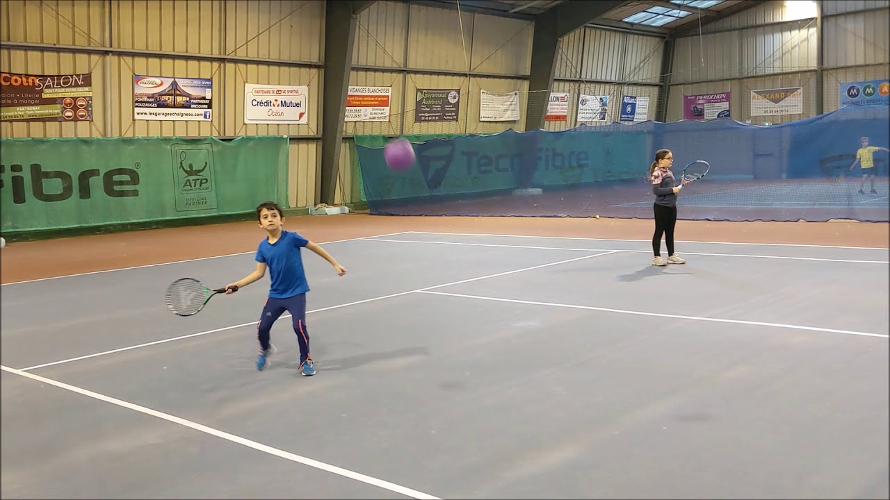 Vidéo cours de tennis au TSP