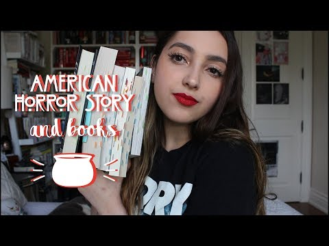 American Horror Story And Books // Tag, Ranking, Thoughts!