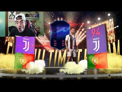 Non Ci Credo! 100 EURO PER RONALDO OTW !!! PACK OPENING FIFA 19 ITA
