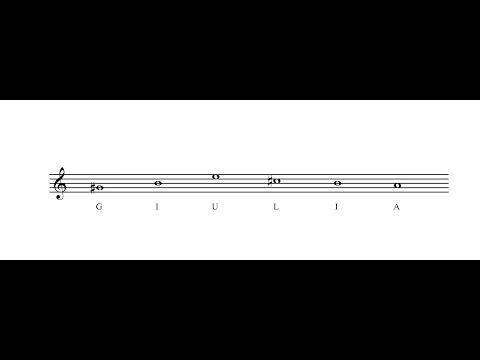 Piano Solo - Giulia