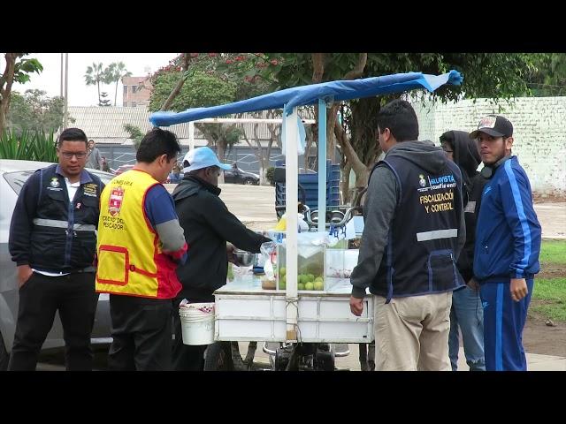 SERENAZGO DE BELLAVISTA REALIZÓ OPERATIVO ANTI COMERCIO AMBULATORIO INFORMAL