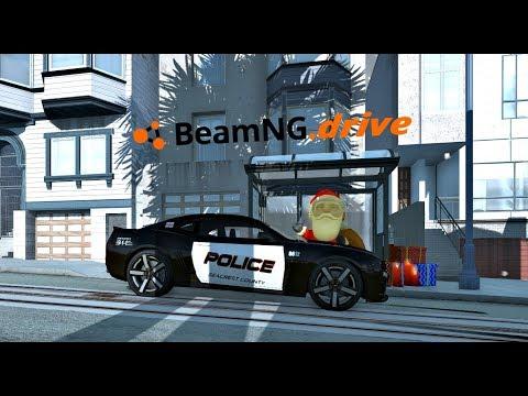 Destruyendo Los Muñecos de nieve en West Coast, USA | BeamNG drive