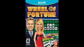 Nintendo Wii U Wheel of Fortune 2nd Run Game #4
