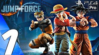 JUMP FORCE – Gameplay Walkthrough Part 1 – Story Mode (Full Game) PS4 PRO