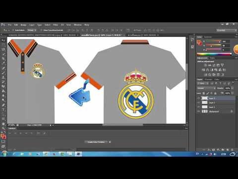 สอนออกแบบเสื้อด้วย Cs6