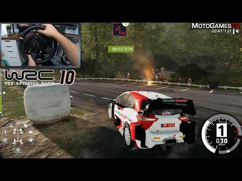 WRC 10 DEMO - Toyota Yaris WRC at Croatia Rally | Thrustmaster TS-XW Gameplay