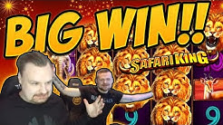 Huge Win! Safari King BIG WIN - Epic Win on Casino games from Casinodady LIVE STREAM