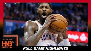 Oklahoma City Thunder vs Portland Trail Blazers Full Game Highlights / Week 3