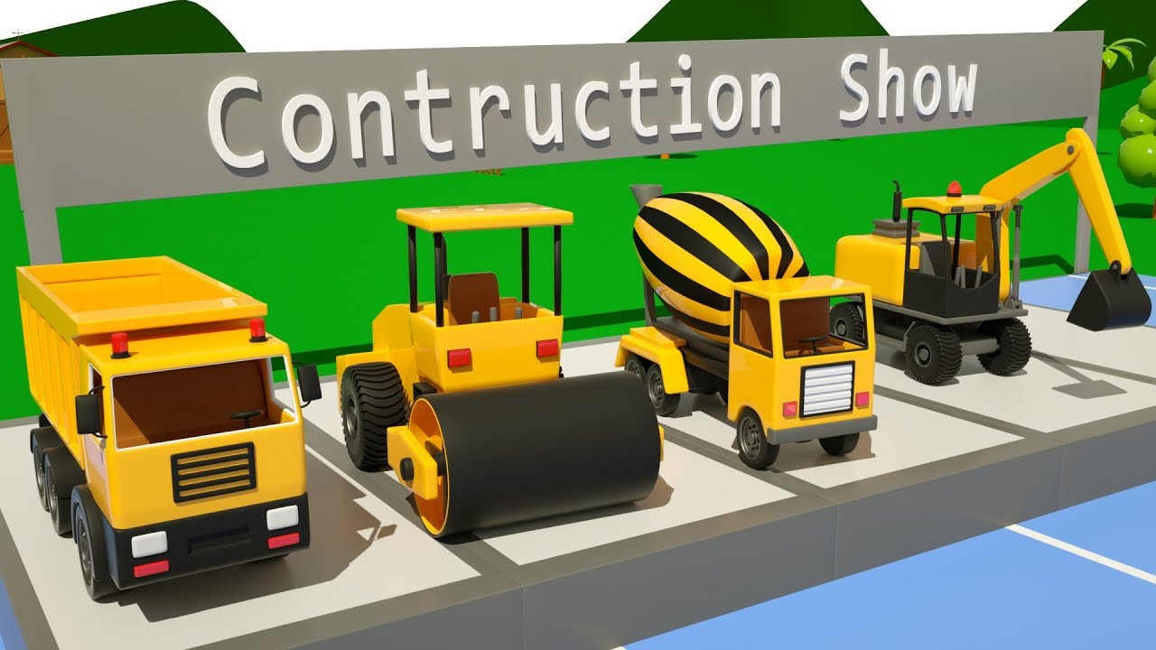 Download truck for kids, jcb, cartoon, gadi, trucks, excavator, dump truck, #excavator - car buddies #2