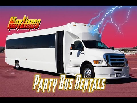 Party Bus San Diego - 50 Passenger Party Bus - San Diego Limo Service (NEW)