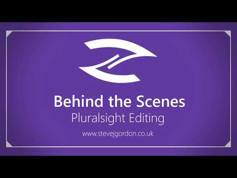 Pluralsight Editing: Behind the Scenes