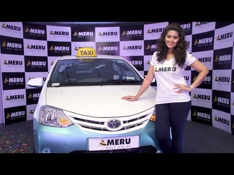 Sneha Launches Meru Cabs