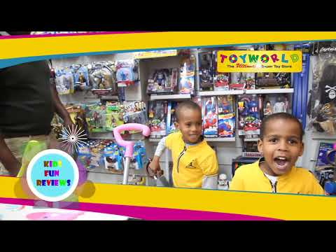 Kids Fun Reviews-Toy World at TRM Kenya