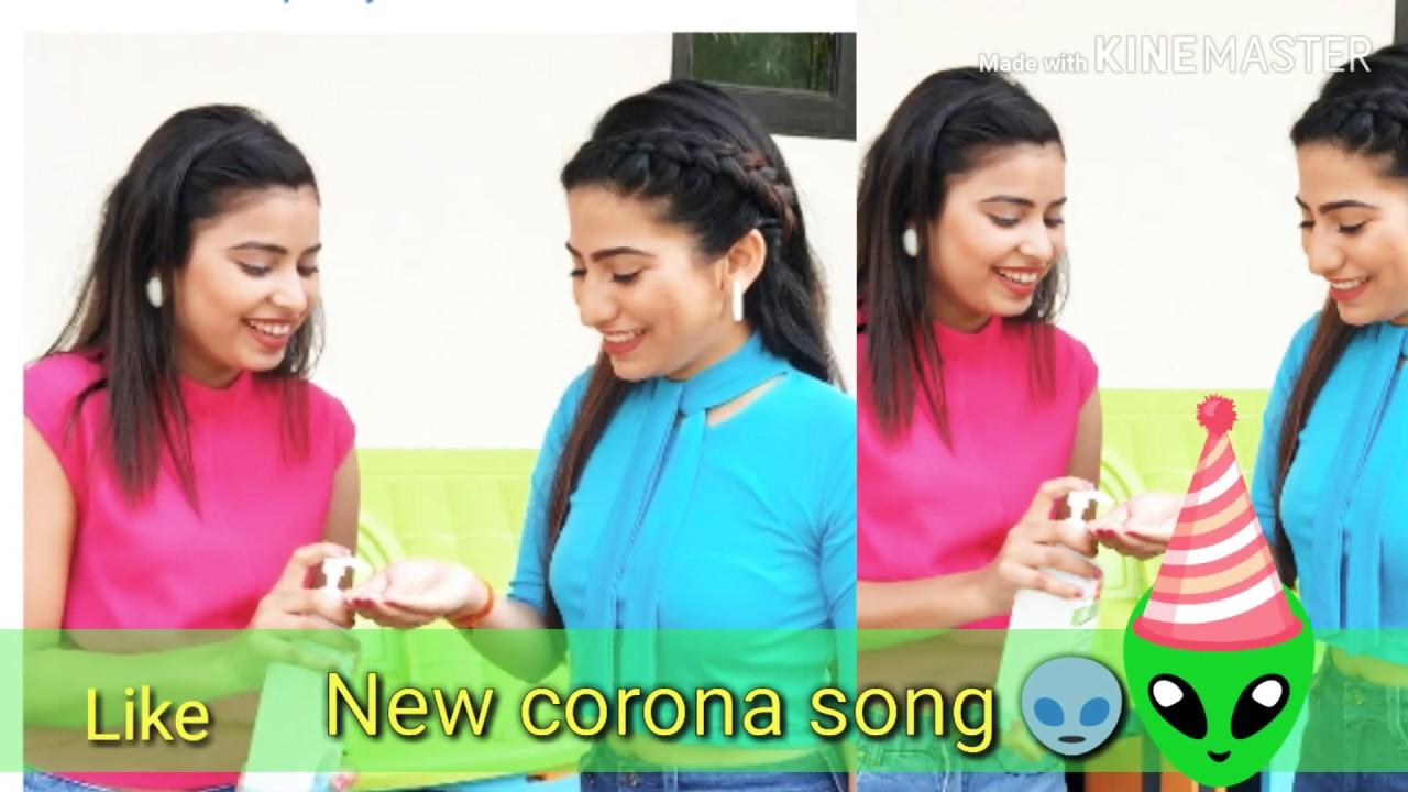 #ANAYSA.. #anaysajuniyAr..👏 is new corona 👾👽is new song...