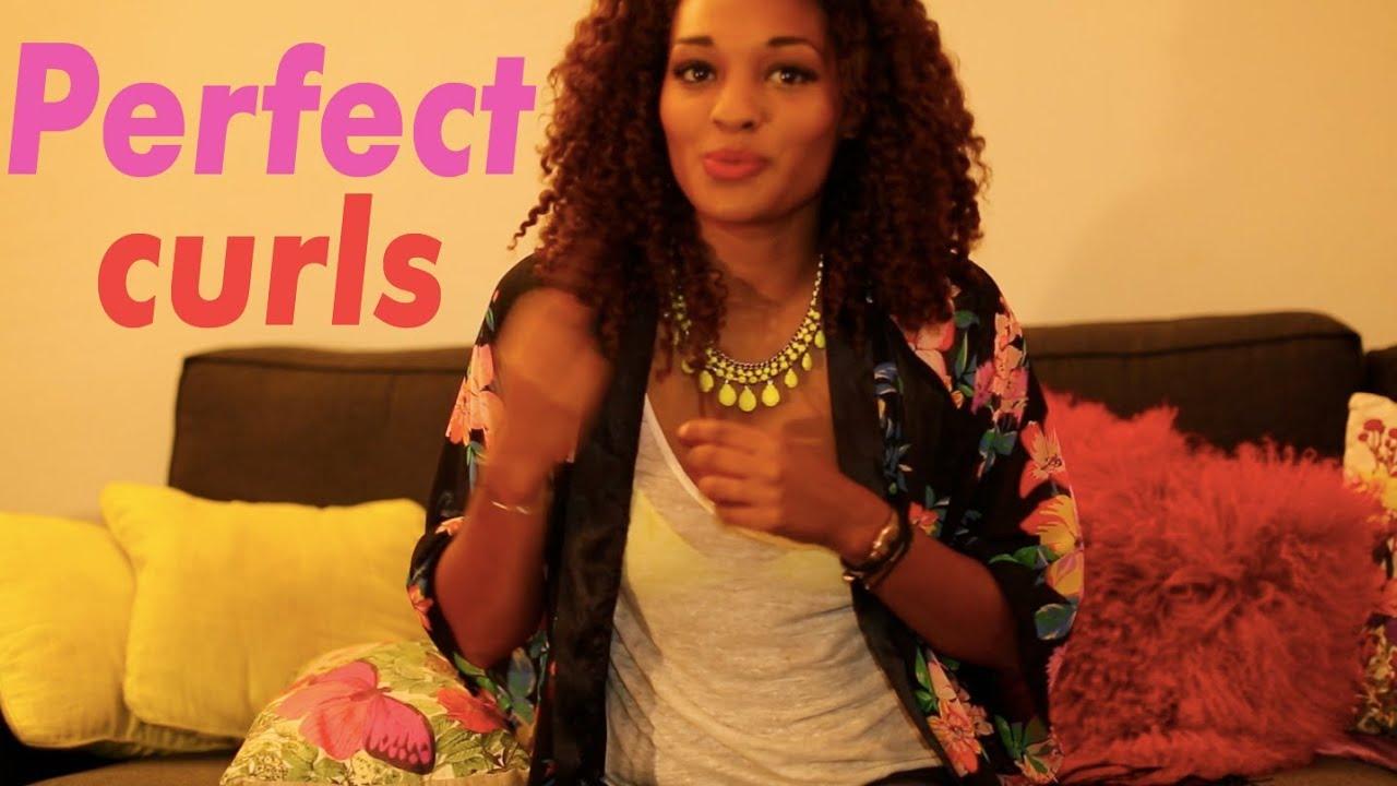 boucles parfaites et dfinies pour cheveux friss afro kinky curly et mtisss youtube - Coloration Cheveux Pour Mtisse