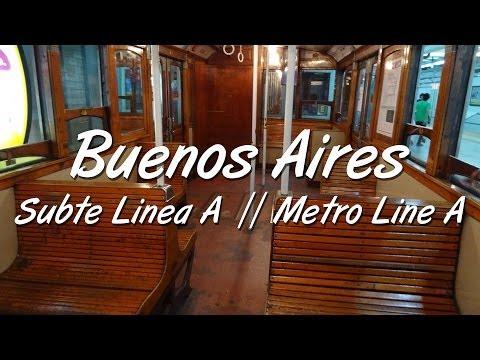 Buenos Aires - Subte Linea A (viejos vagones) // Subway Line A (old carriages)