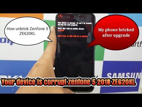 Solusi Unbrick Asus Zenfone 5 tanpa PC.